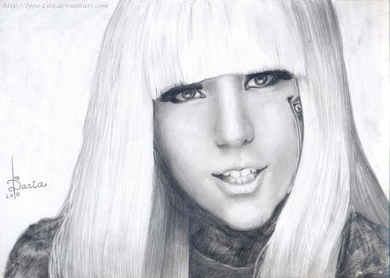 Lady Gaga par Daria_Tkacheva